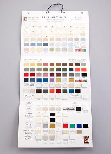 Colourmount Display Board