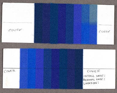 Blue Wool Test